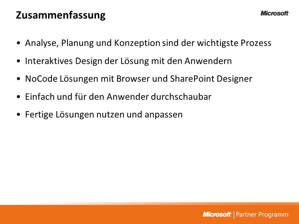 Tech@Night:. Microsoft Office 2007 und Office SharePoint Server 2007
