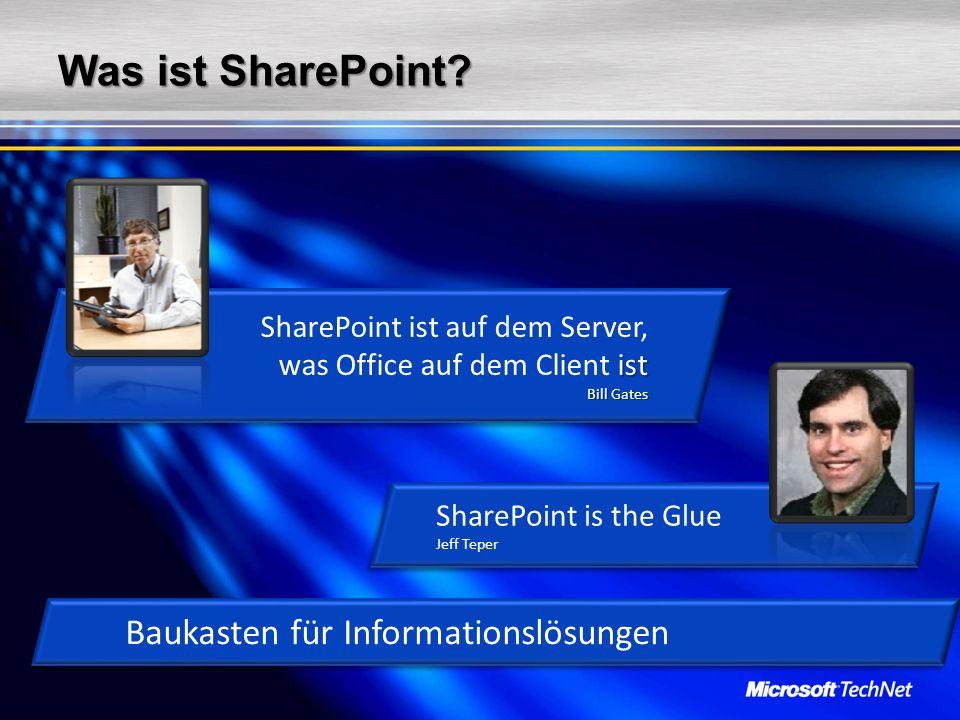 Was ist SharePoint Baukasten für Informationslösungen