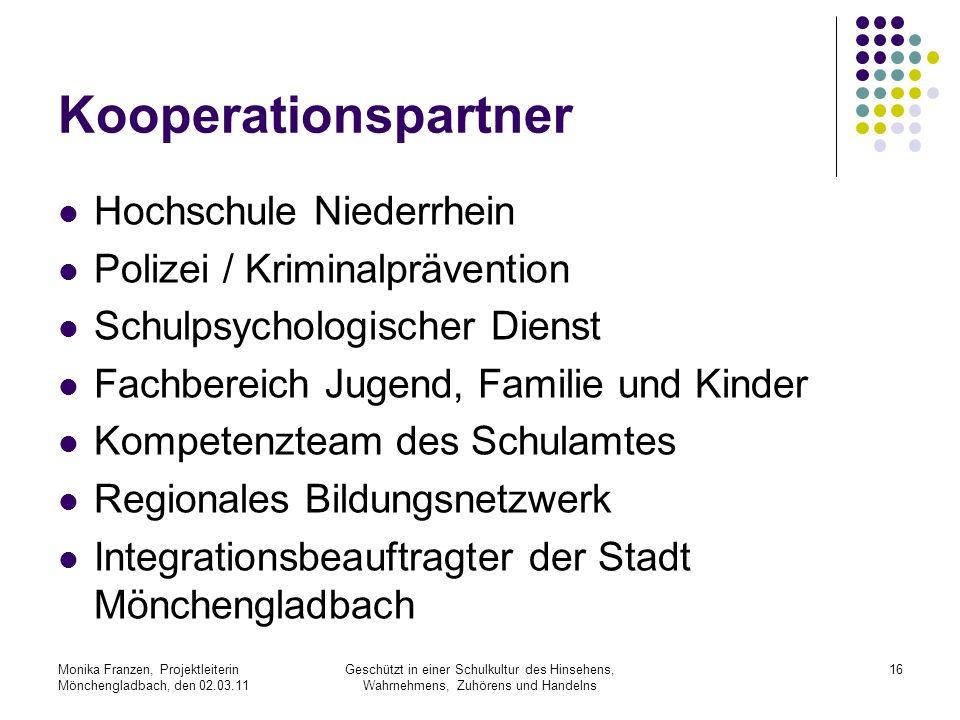Kooperationspartner Hochschule Niederrhein