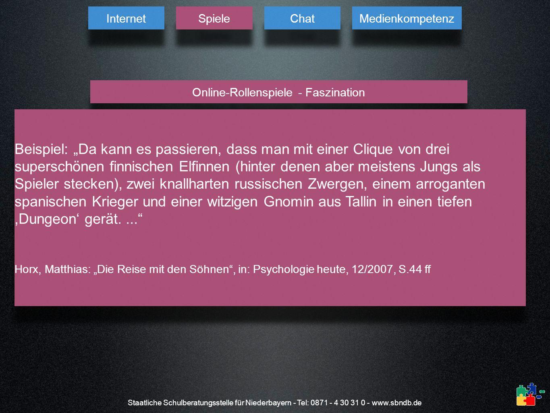 Online-Rollenspiele - Faszination