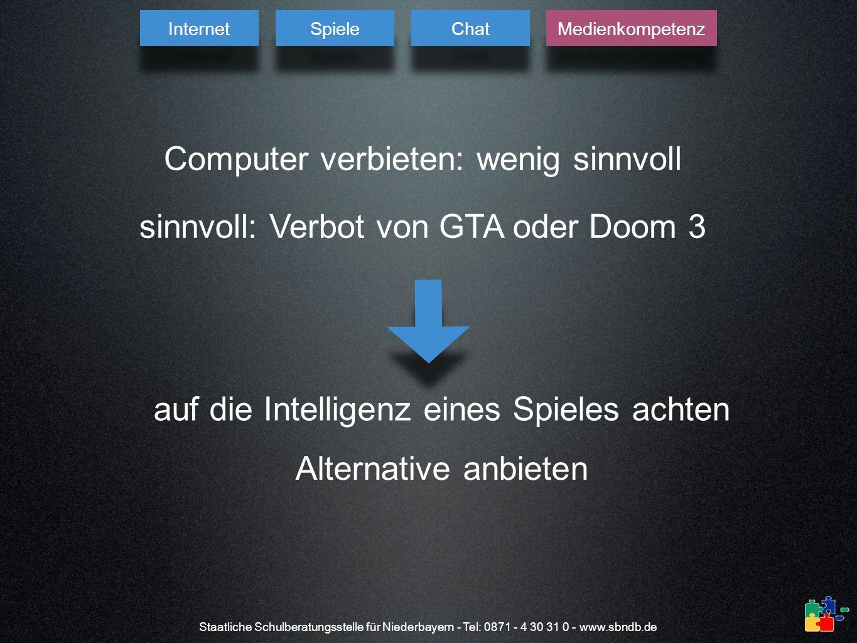 Computer verbieten: wenig sinnvoll
