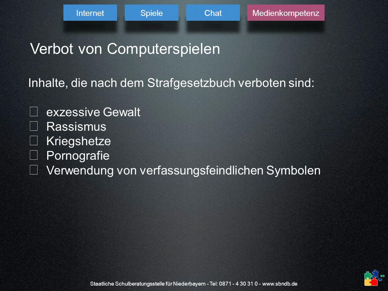 Verbot von Computerspielen