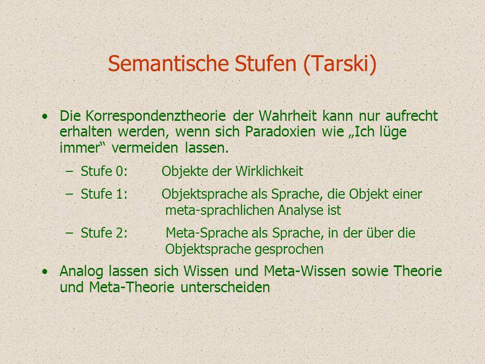 Semantische Stufen (Tarski)