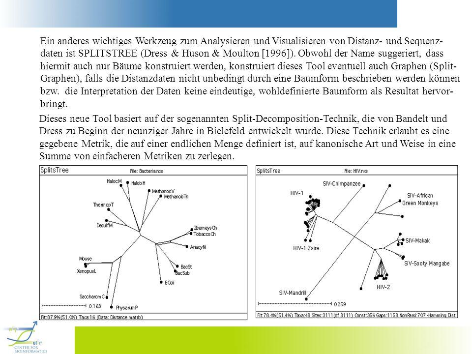 Ein anderes wichtiges Werkzeug zum Analysieren und Visualisieren von Distanz- und Sequenz-