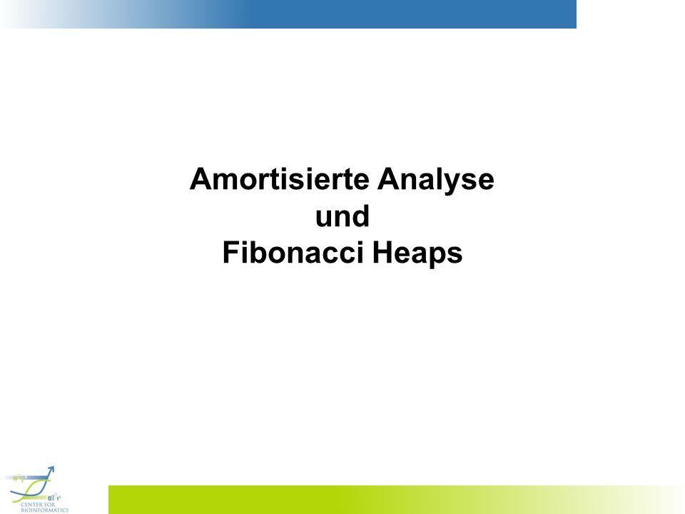 Amortisierte Analyse und Fibonacci Heaps