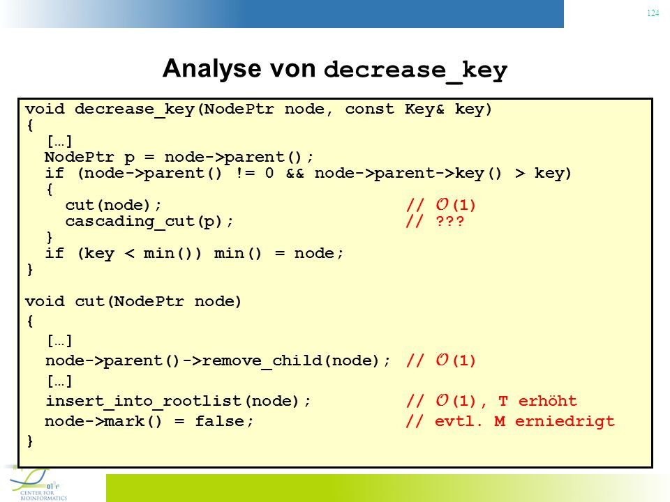 Analyse von decrease_key