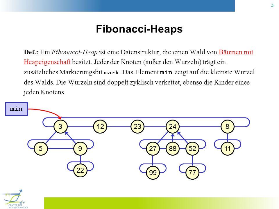 Fibonacci-Heaps