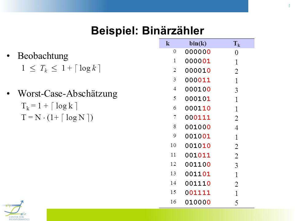 Beispiel: Binärzähler