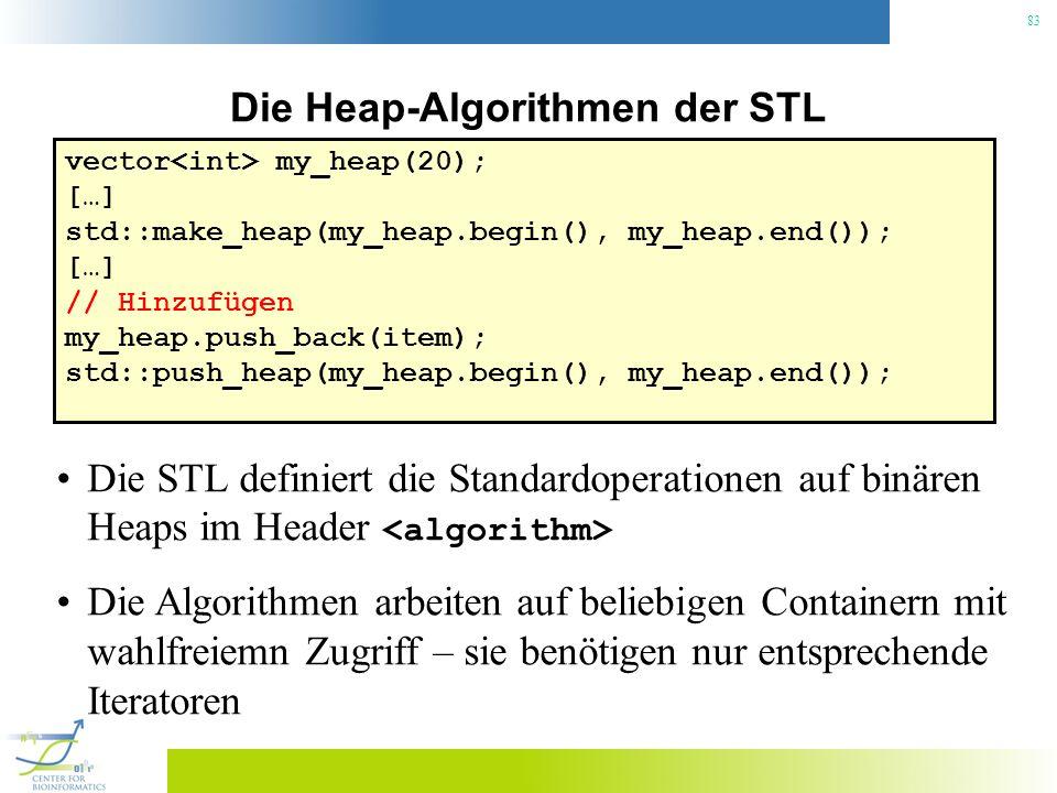 Die Heap-Algorithmen der STL