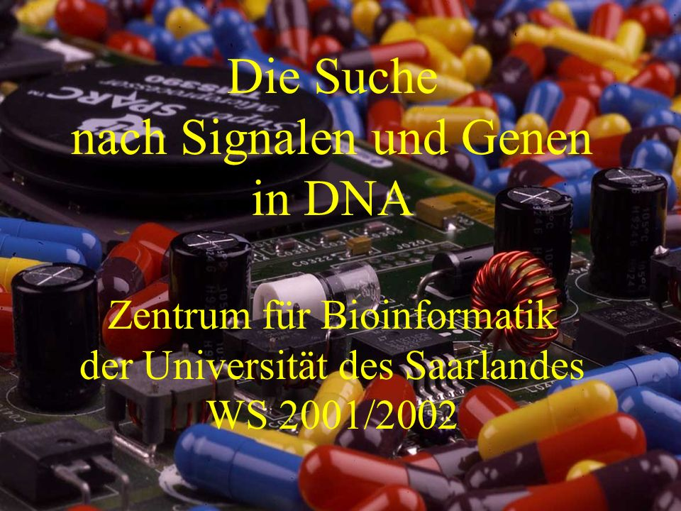 nach Signalen und Genen in DNA
