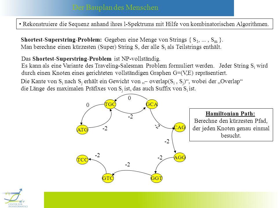 Das Shortest-Superstring-Problem ist NP-vollständig.