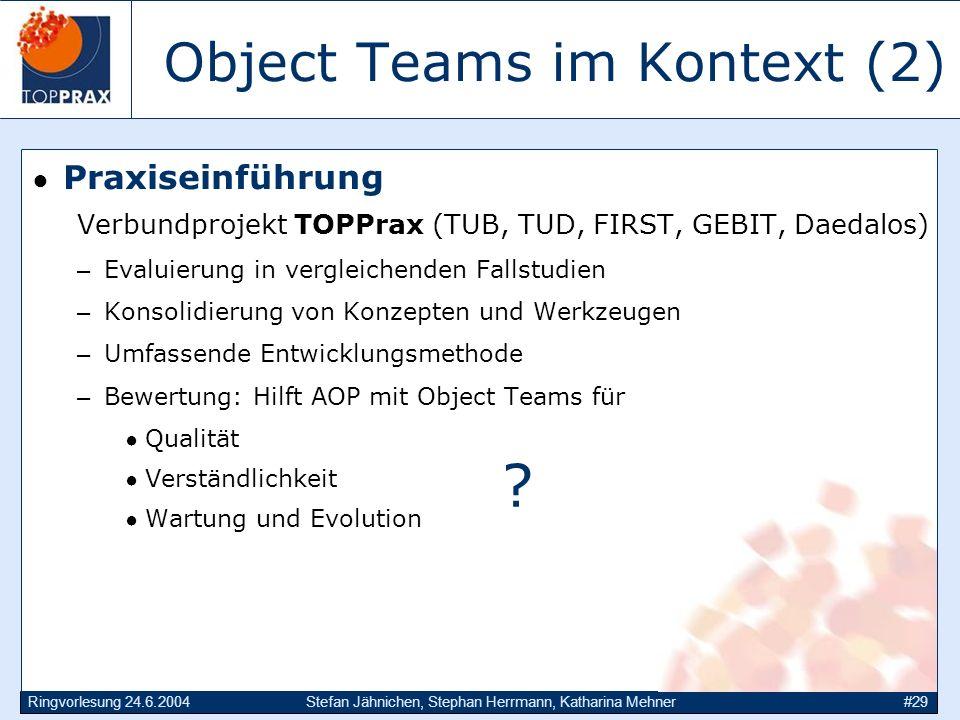 Object Teams im Kontext (2)
