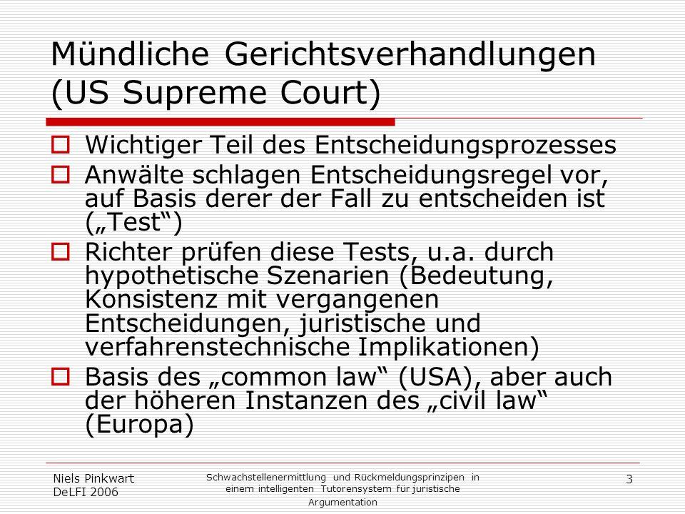 Mündliche Gerichtsverhandlungen (US Supreme Court)