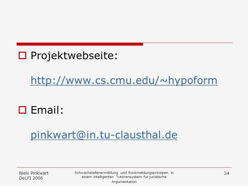 Projektwebseite: http://www.cs.cmu.edu/~hypoform
