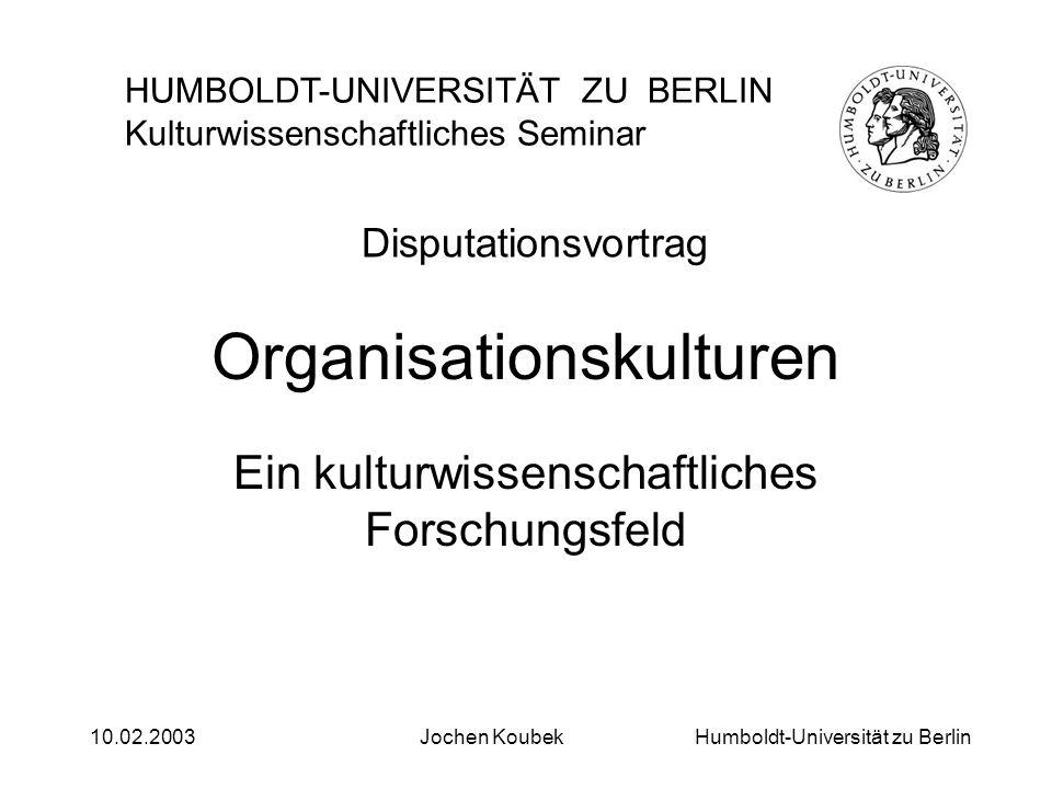 Organisationskulturen