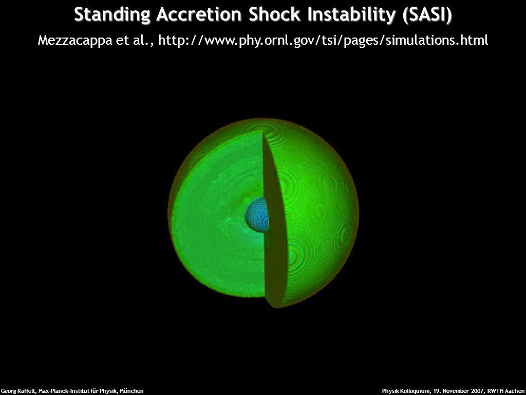 Standing Accretion Shock Instability (SASI)