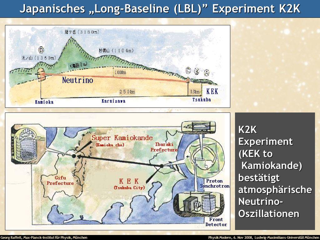 "Japanisches ""Long-Baseline (LBL) Experiment K2K"