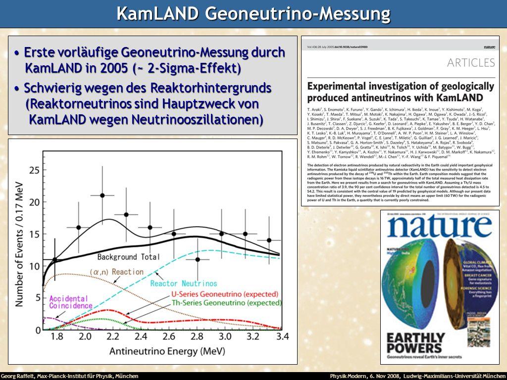 KamLAND Geoneutrino-Messung