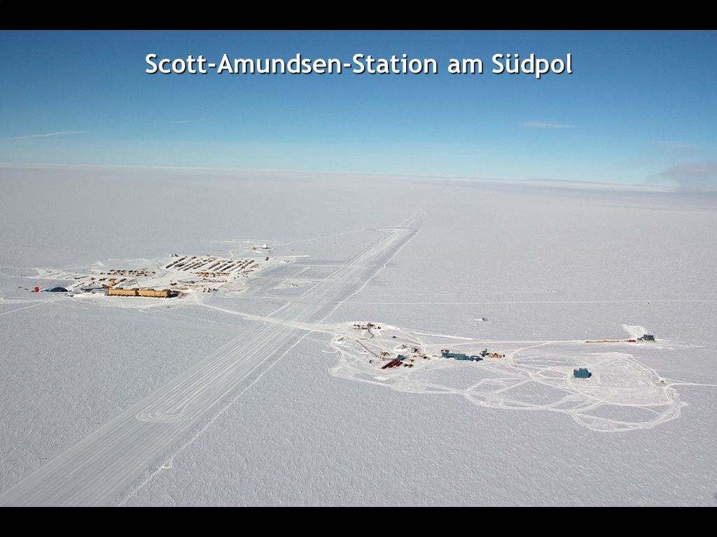 Scott-Amundsen-Station am Südpol