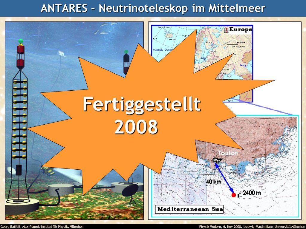 ANTARES – Neutrinoteleskop im Mittelmeer