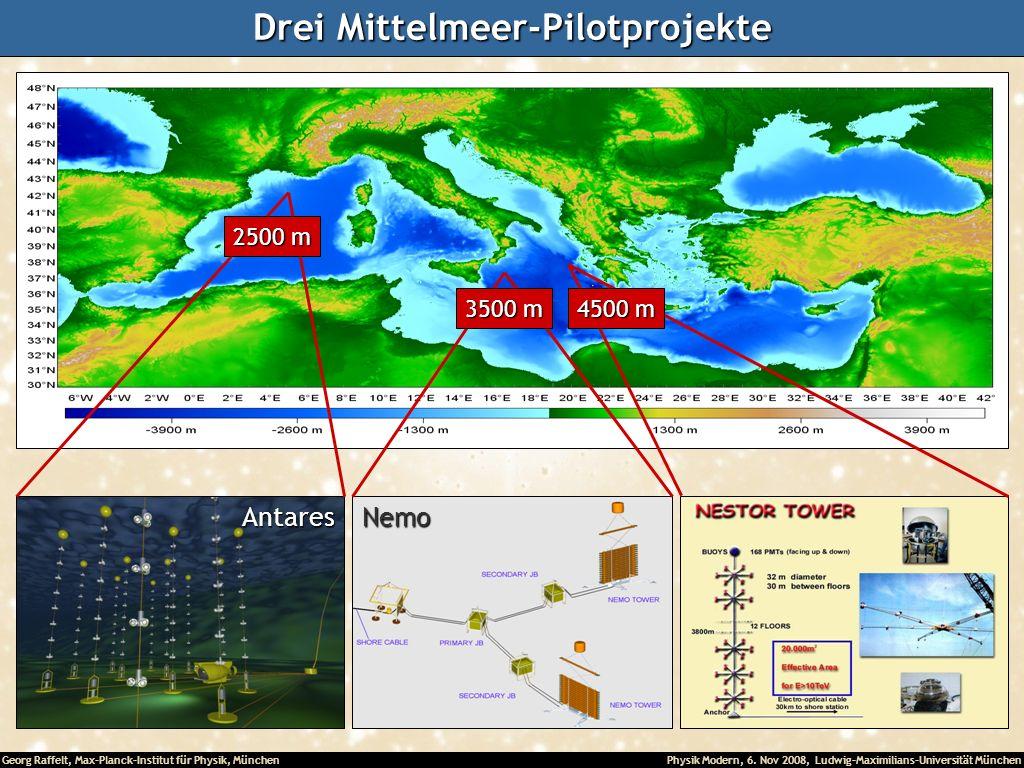 Drei Mittelmeer-Pilotprojekte