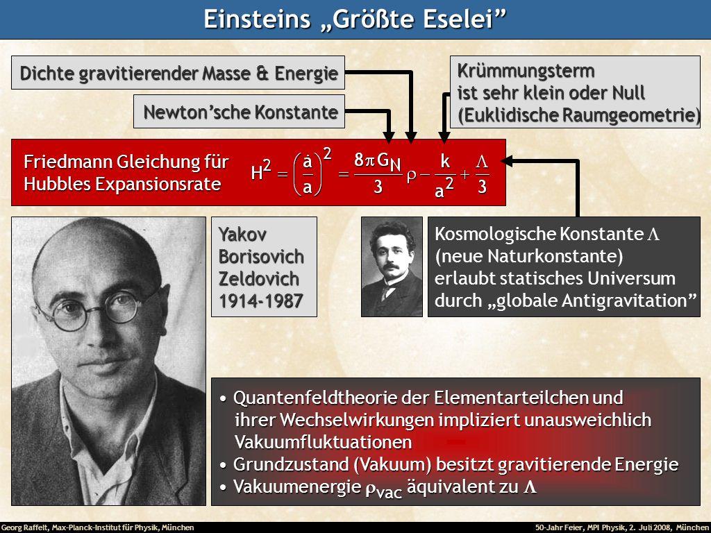 """Einsteins """"Größte Eselei"""