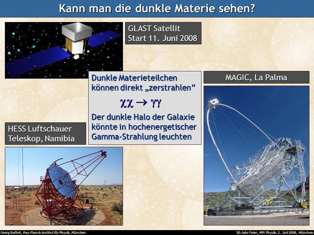 Kann man die dunkle Materie sehen
