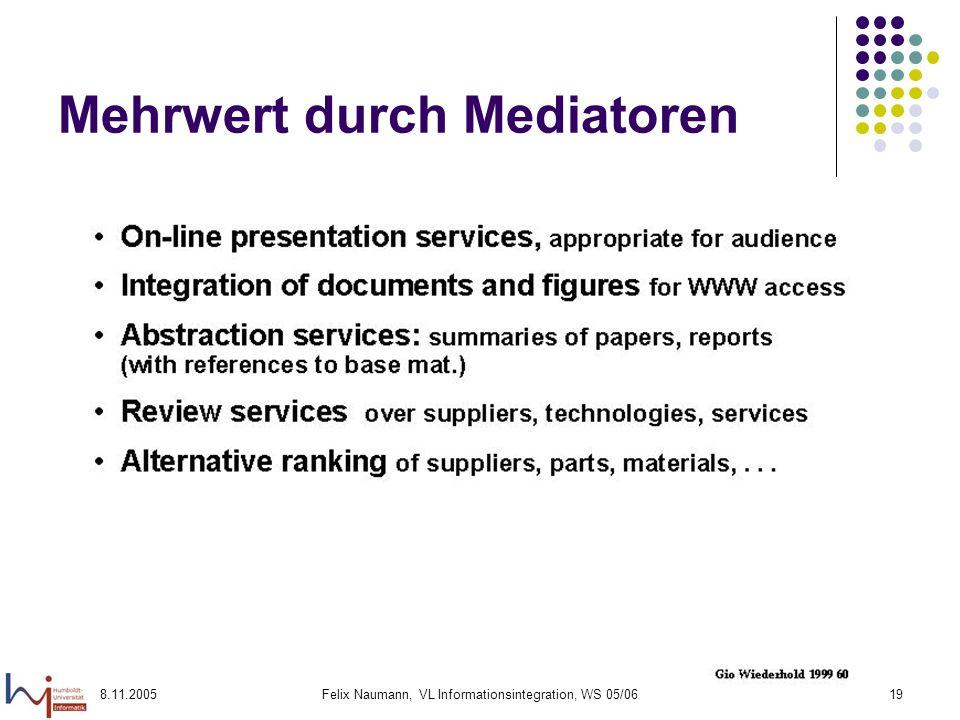 Mehrwert durch Mediatoren