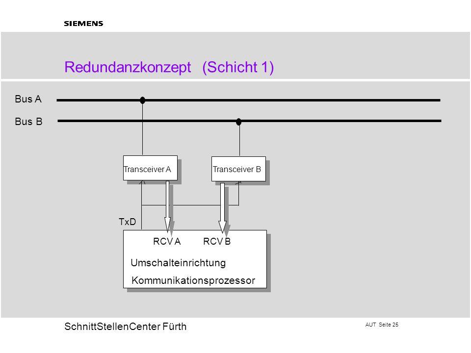 Redundanzkonzept (Schicht 1)