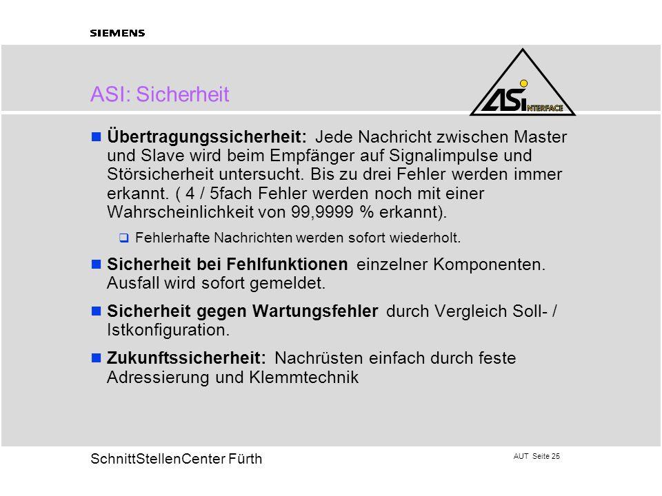 ASI: Sicherheit
