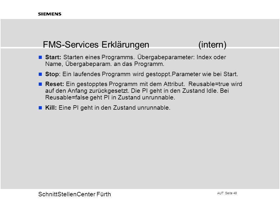 FMS-Services Erklärungen (intern)