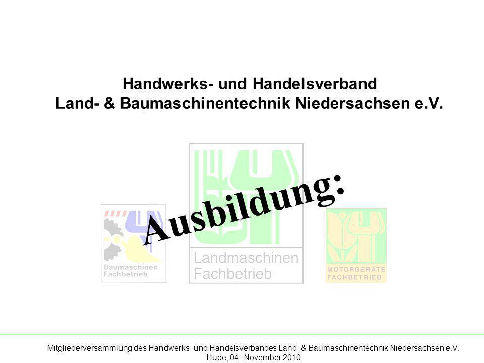 Handwerks- und Handelsverband Land- & Baumaschinentechnik Niedersachsen e.V.