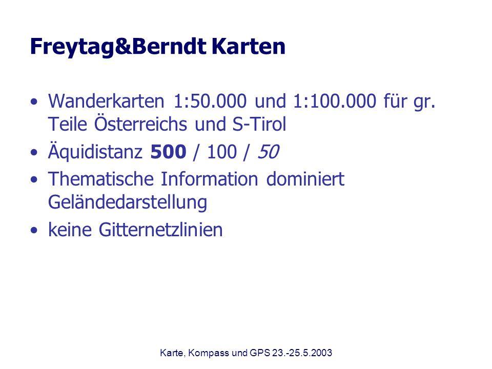 Freytag&Berndt Karten