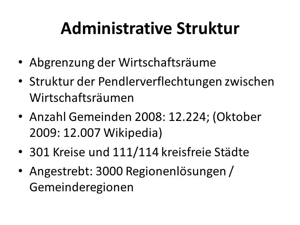 Administrative Struktur