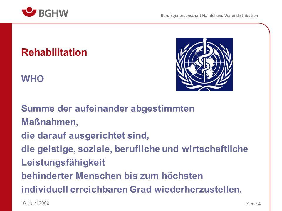 Rehabilitation WHO.