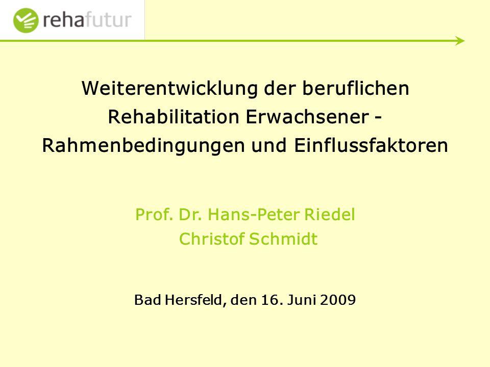 Prof. Dr. Hans-Peter Riedel