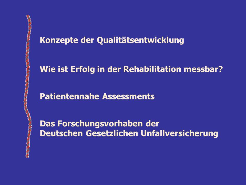 Konzepte der Qualitätsentwicklung