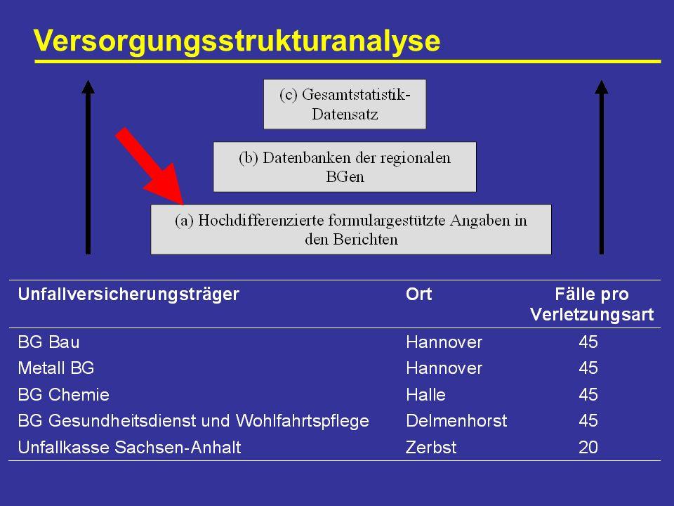 Versorgungsstrukturanalyse