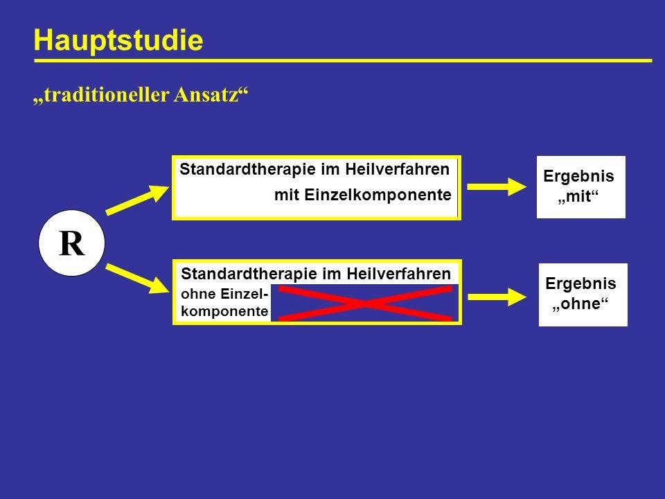 "R Hauptstudie ""traditioneller Ansatz"