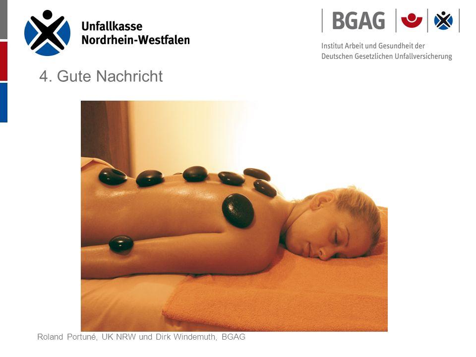 4. Gute Nachricht Roland Portuné, UK NRW und Dirk Windemuth, BGAG