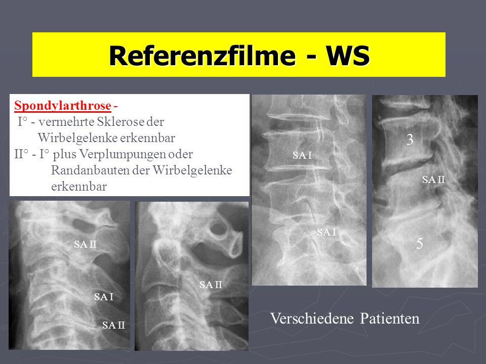 Referenzfilme - WS 3 5 Verschiedene Patienten