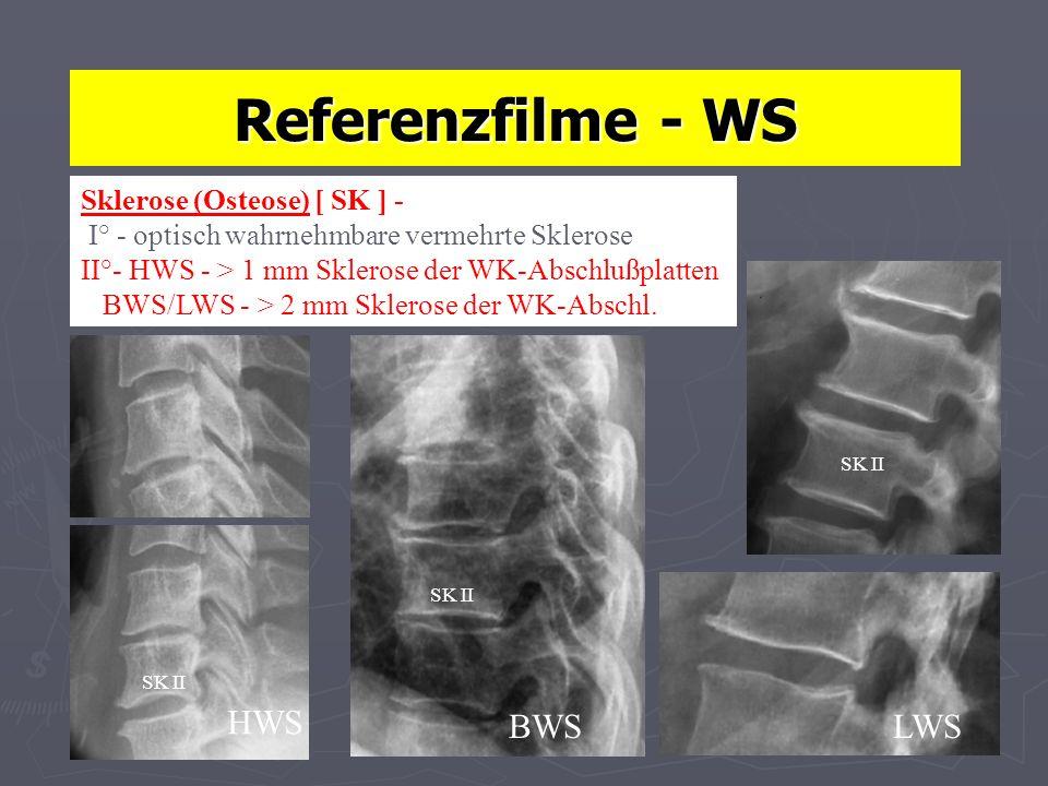 Referenzfilme - WS HWS BWS LWS