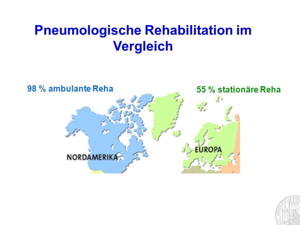 Pneumologische Rehabilitation im Vergleich