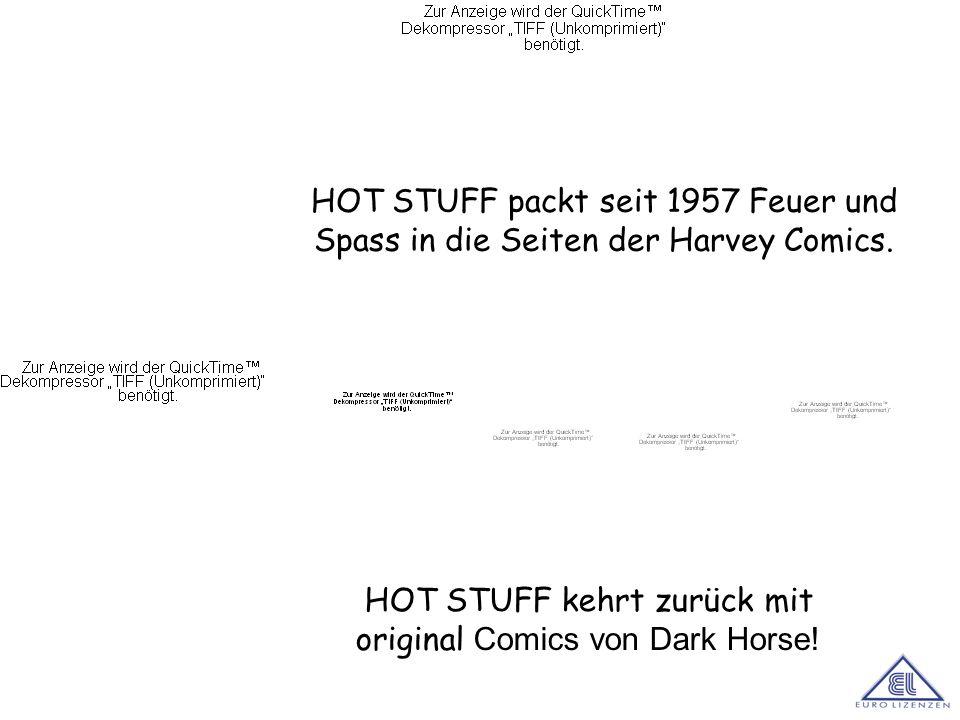 HOT STUFF kehrt zurück mit original Comics von Dark Horse!