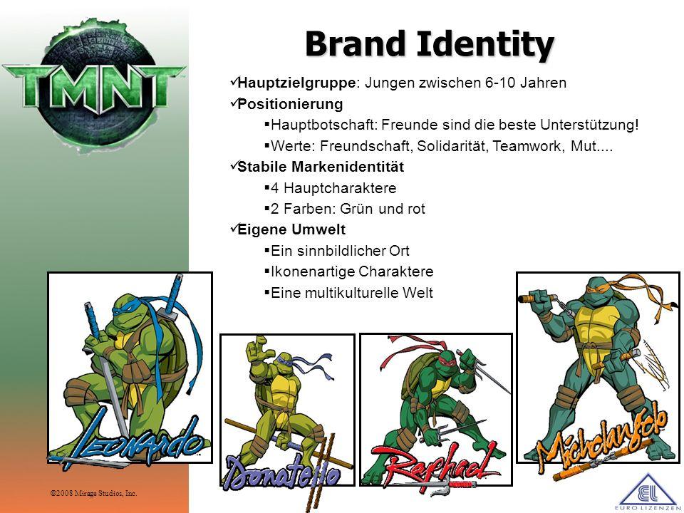 Brand Identity Hauptzielgruppe: Jungen zwischen 6-10 Jahren