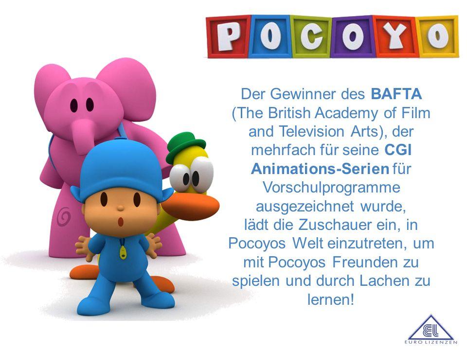 Der Gewinner des BAFTA (The British Academy of Film and Television Arts), der mehrfach für seine CGI Animations-Serien für Vorschulprogramme ausgezeichnet wurde,