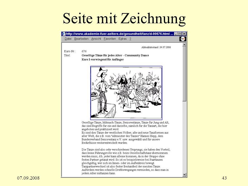 Seite mit Zeichnung 07.09.2008