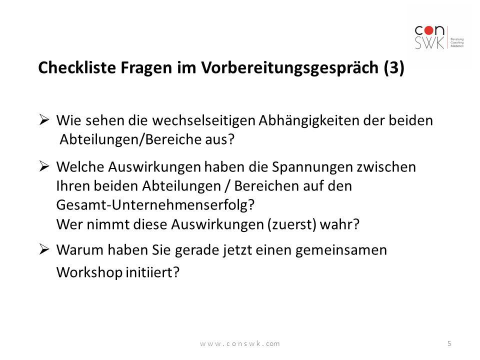 Checkliste Fragen im Vorbereitungsgespräch (3)