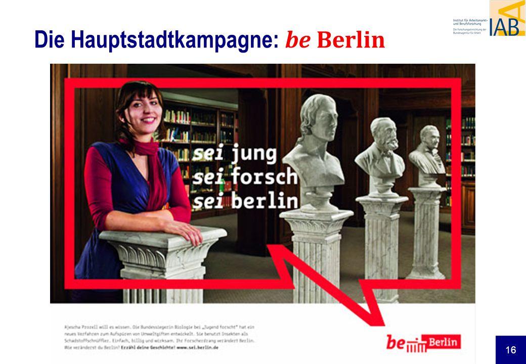 Die Hauptstadtkampagne: be Berlin