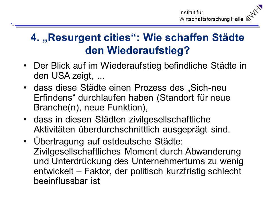 """4. """"Resurgent cities : Wie schaffen Städte den Wiederaufstieg"""